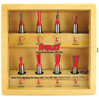 Freud 8 Piece Incra Jig Bit Set