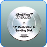 Freud Calibration Disc